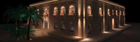 NEW FAÇADE LIGHTING FOR MIDDLESEA HOUSE – FLORIANA
